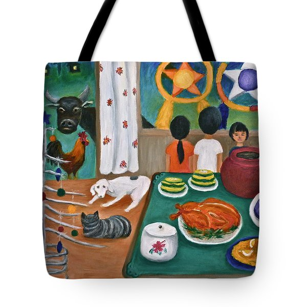 Philippine Christmas 2 Tote Bag by Victoria Lakes
