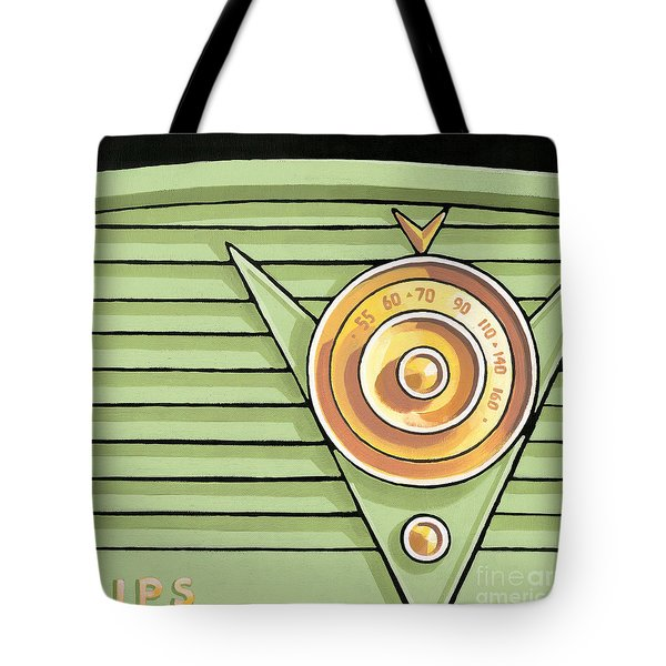 Phillips Radio - Green Tote Bag
