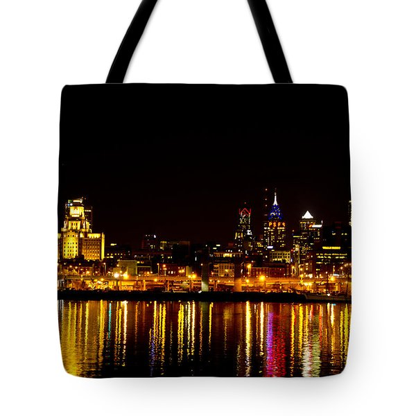 Philly Nights Tote Bag by Bill Cannon