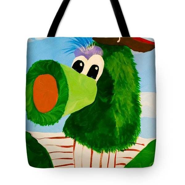 Philly Phanatic Tote Bag by Trish Tritz