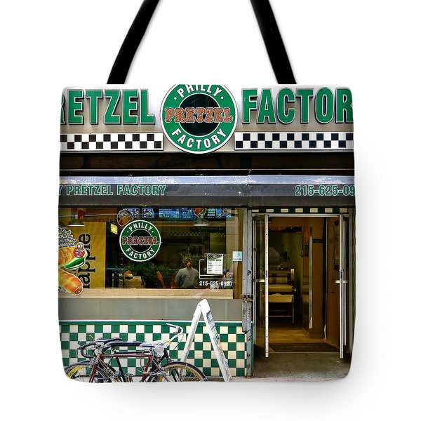 Philly Pretzel Factory Tote Bag