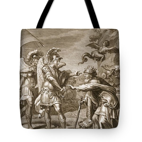 Phineus Is Delivered From The Harpies Tote Bag