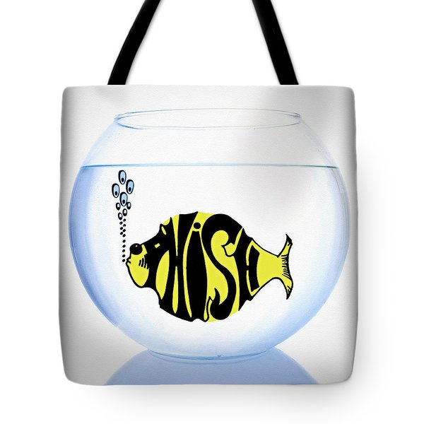 Phish Bowl Tote Bag by Bill Cannon