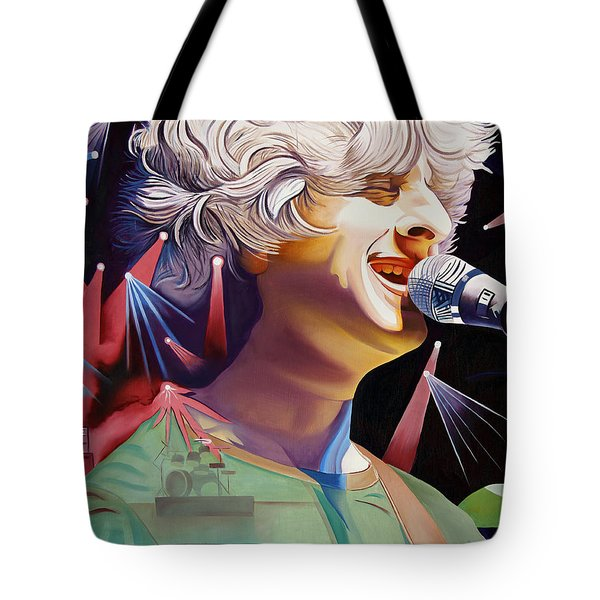 Phish Full Band Gordon Tote Bag by Joshua Morton