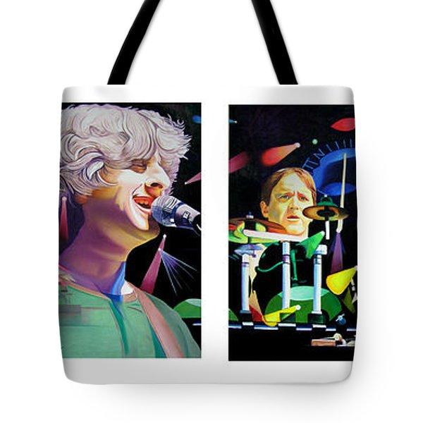 Phish Full Band Tote Bag by Joshua Morton