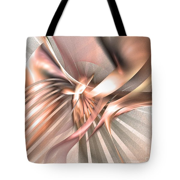 Phoenix Of The Future - Abstract Art Tote Bag