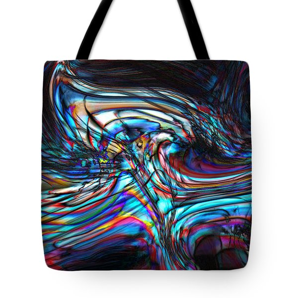 Tote Bag featuring the digital art Phoenix by Richard Thomas