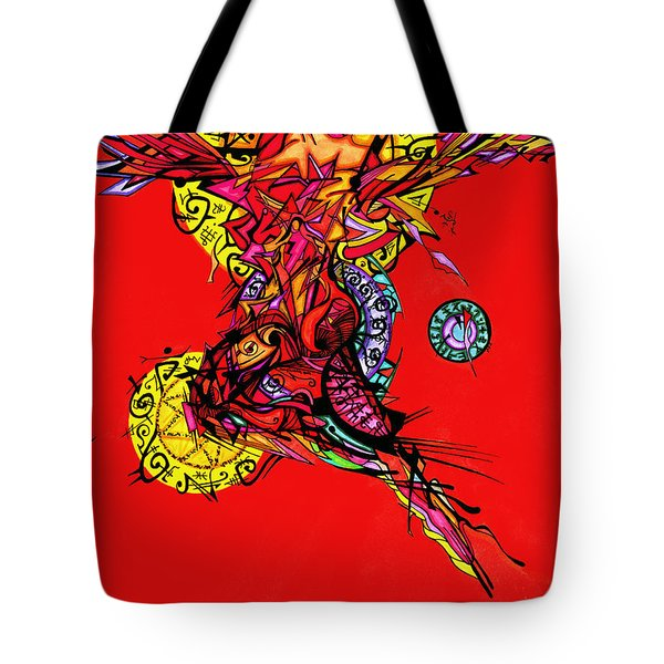 Phoenix Woman  Tote Bag