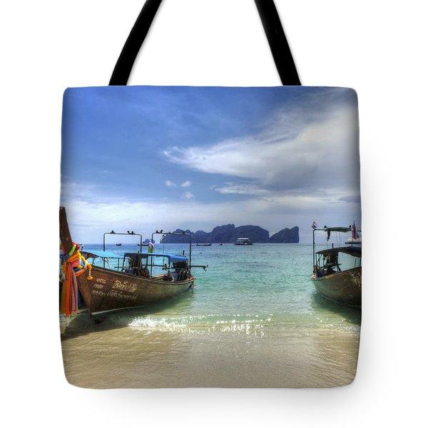 Phuket Koh Phi Phi Island Tote Bag by Bob Christopher