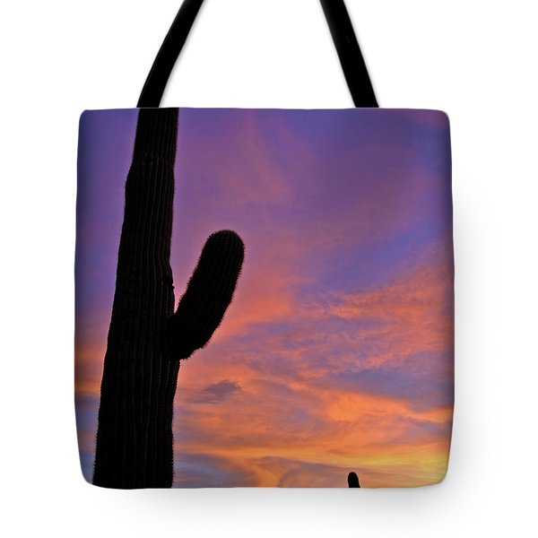 Phx July 2014 Sunsets 3 Tote Bag