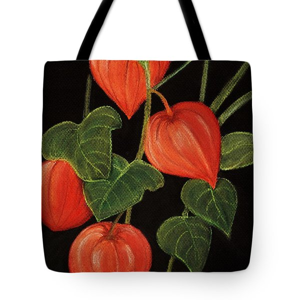 Physalis Tote Bag by Anastasiya Malakhova