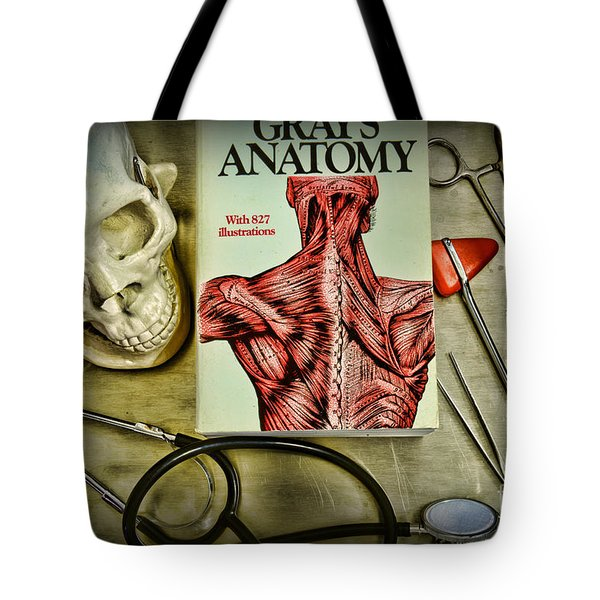 Physician - Tools Of The Trade Tote Bag by Paul Ward