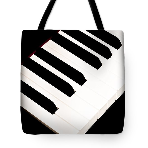 Piano Tote Bag by Bob Orsillo