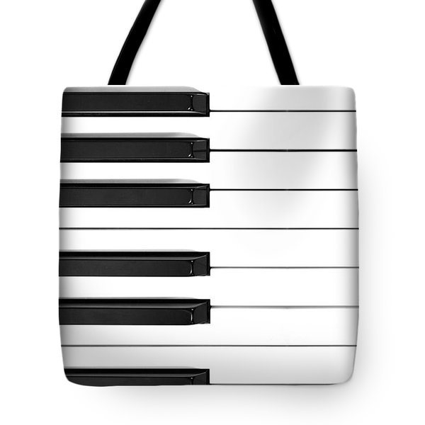 Piano Keys Phone Case Tote Bag by Nikki Marie Smith