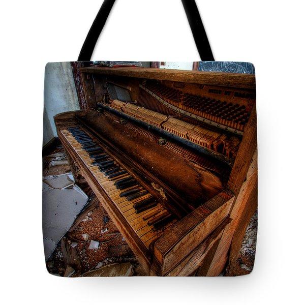 Piano Lessons Tote Bag