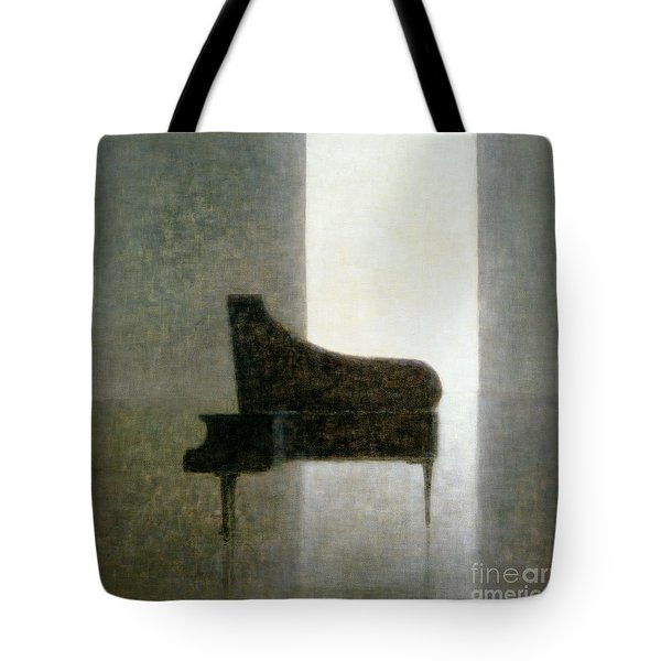 Piano Room 2005 Tote Bag by Lincoln Seligman