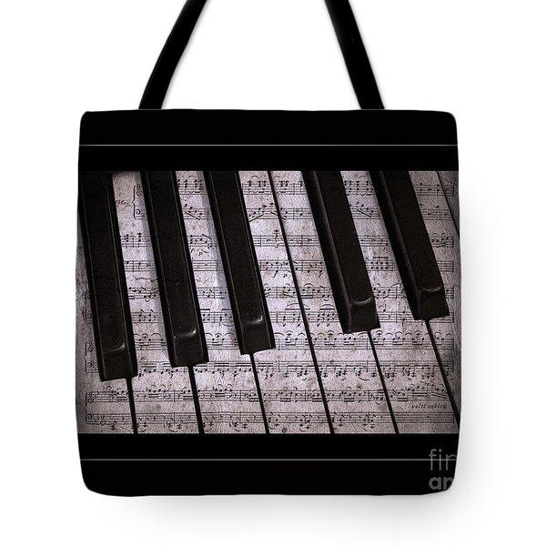 Pianoforte Classic Tote Bag by John Stephens