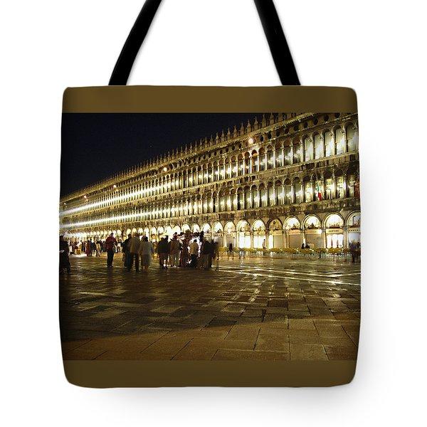 Piazza San Marco Tote Bag by Ellen Henneke