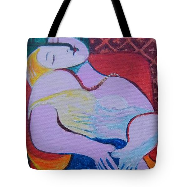 Picasso Tote Bag by Diana Bursztein