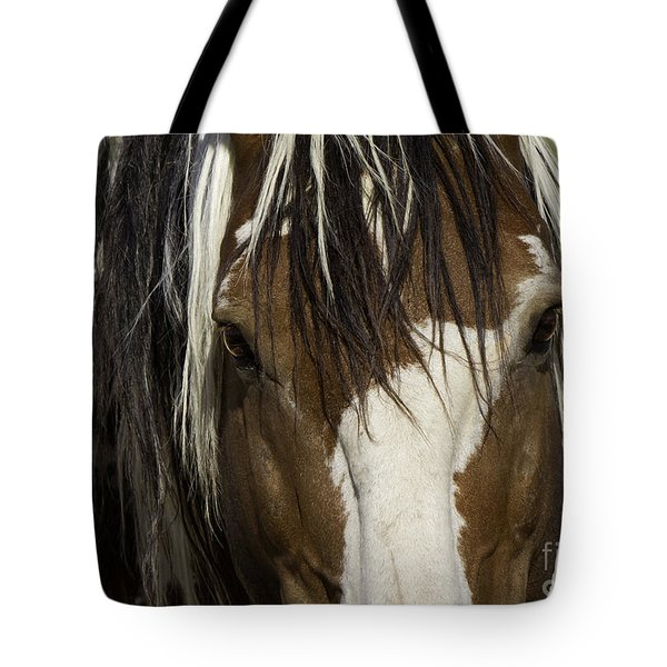 Picasso's Eyes Tote Bag by Carol Walker
