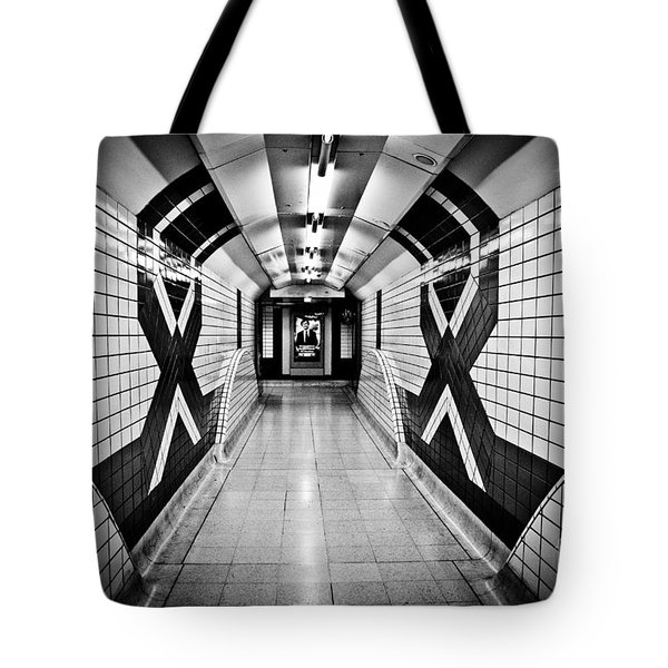 Piccadilly Circus Subway Tote Bag