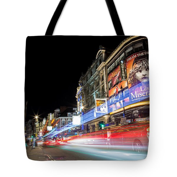 A Night In The West End Tote Bag