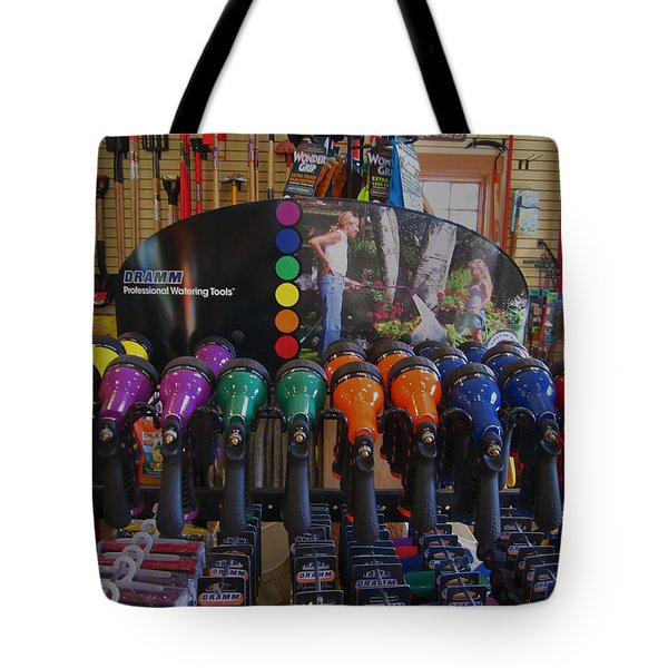 Pick A Color  Any Color Tote Bag by Kym Backland