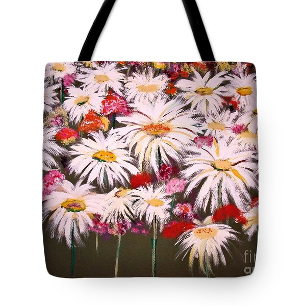 Tote Bag featuring the painting Pick One For Me by Lori  Lovetere