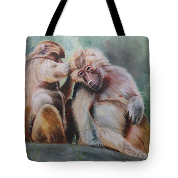 Pick Your Friends Carefully  Tote Bag