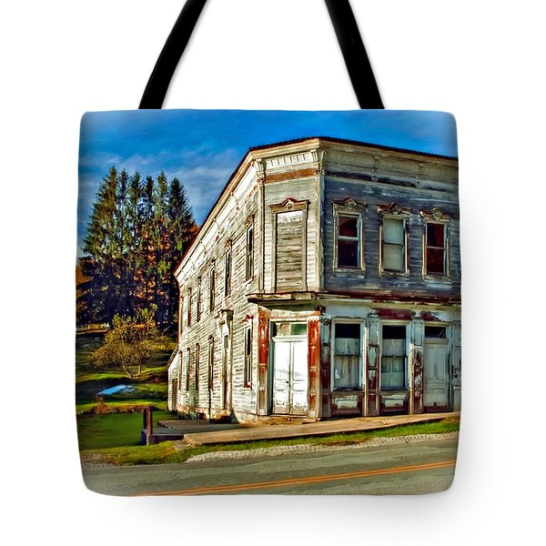 Pickens Wv Painted Tote Bag by Steve Harrington