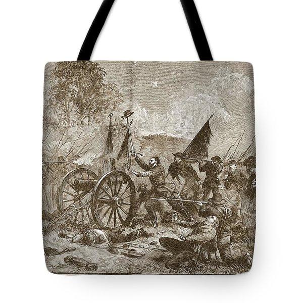 Picketts Charge At Gettysburg Tote Bag