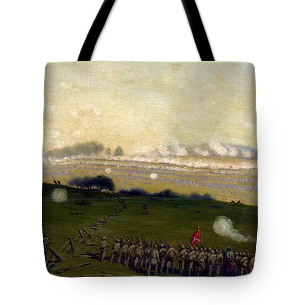 Picketts Charge On Union Center 3pm Tote Bag