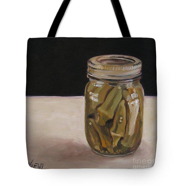 Pickled Okra Tote Bag
