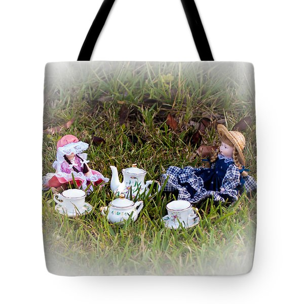 Picnic For Dolls Tote Bag