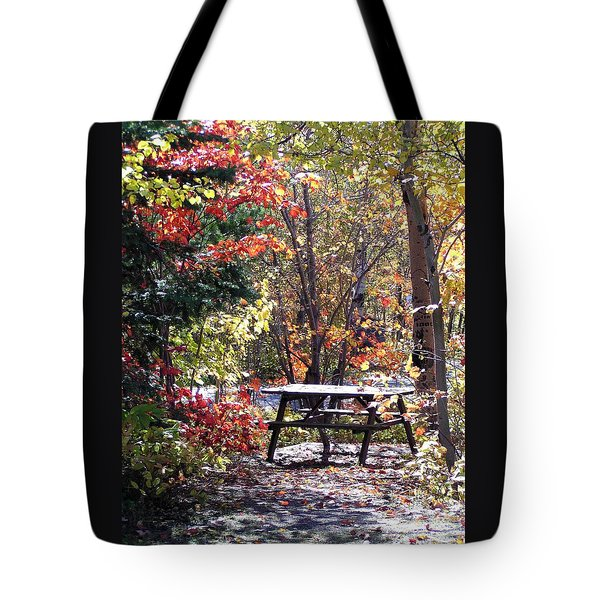 Picnic Memories Tote Bag