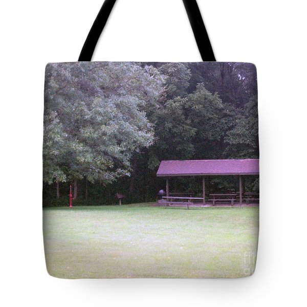Picnic Shelter Tote Bag