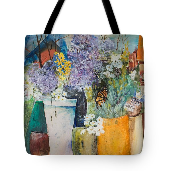 Picture Puzzle Tote Bag