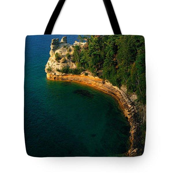 Pictured Rocks National Lake Shore Lake Tote Bag