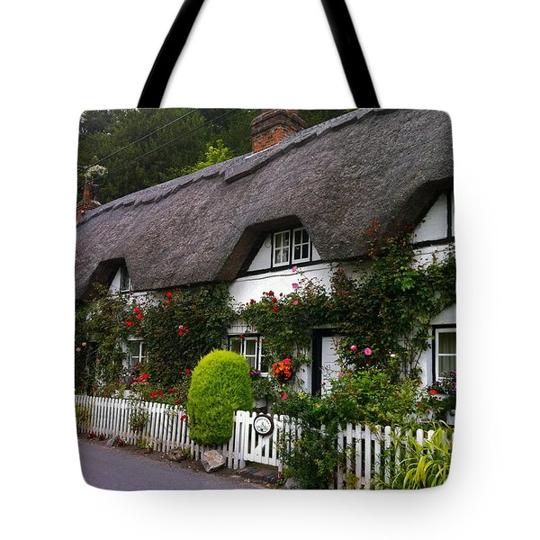 Picturesque Cottage Tote Bag