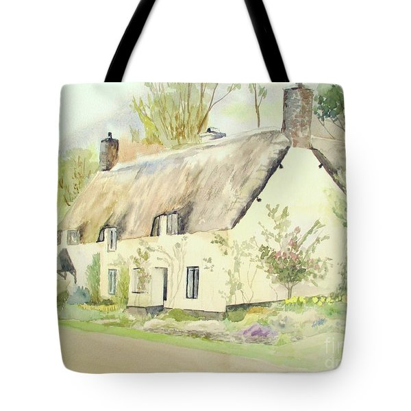 Picturesque Dunster Cottage Tote Bag