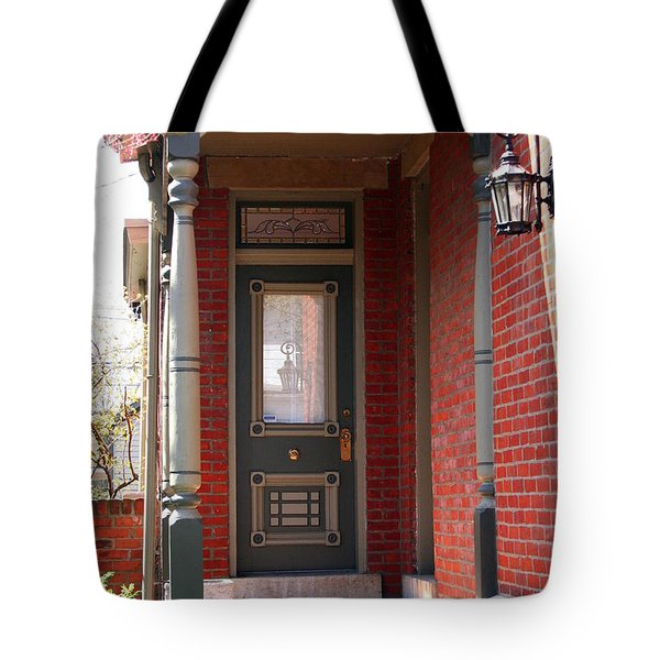 Picturesque Porch Tote Bag