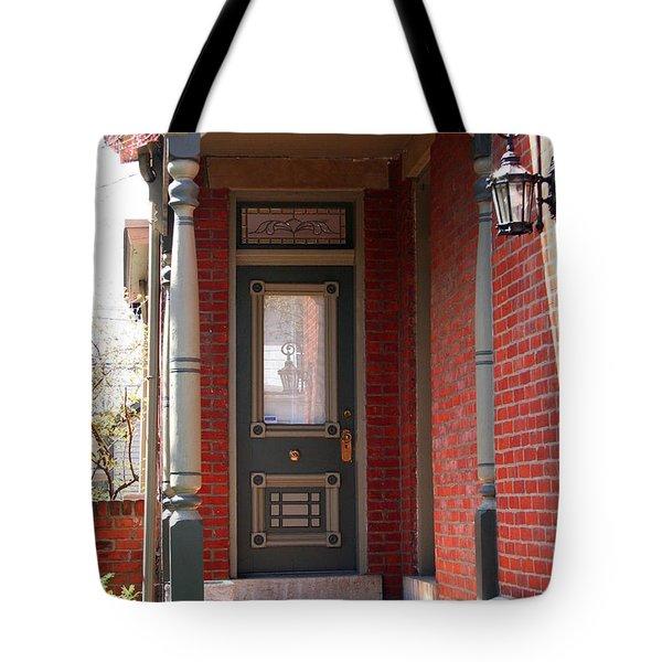 Picturesque Porch Tote Bag
