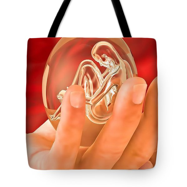 Piece Of Life Tote Bag by Eric Nagel