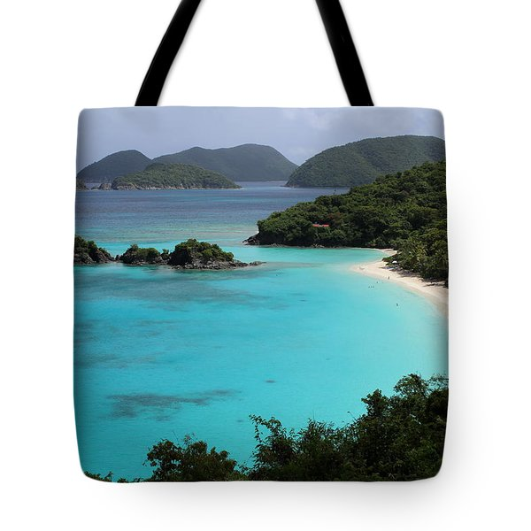 Piece Of Paradise Tote Bag by Fiona Kennard