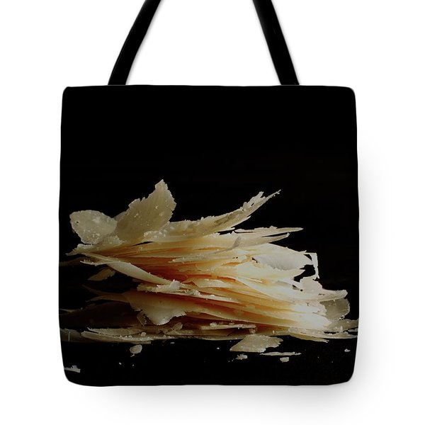 Pieces Of Parmesan Cheese Tote Bag