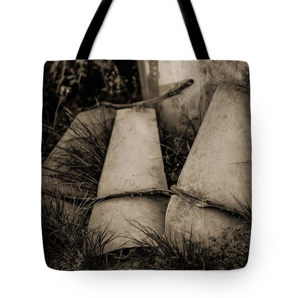 Tote Bag featuring the photograph Pieces Of The Windmill by Amber Kresge