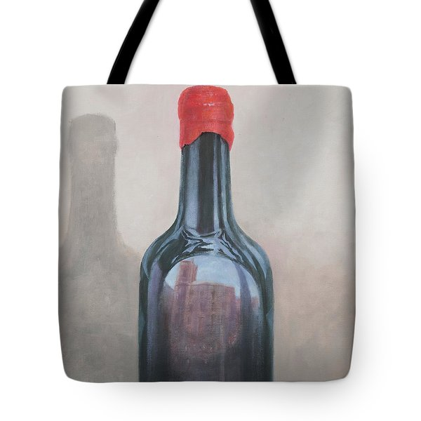 Pienza Reflection Tote Bag by Lincoln Seligman