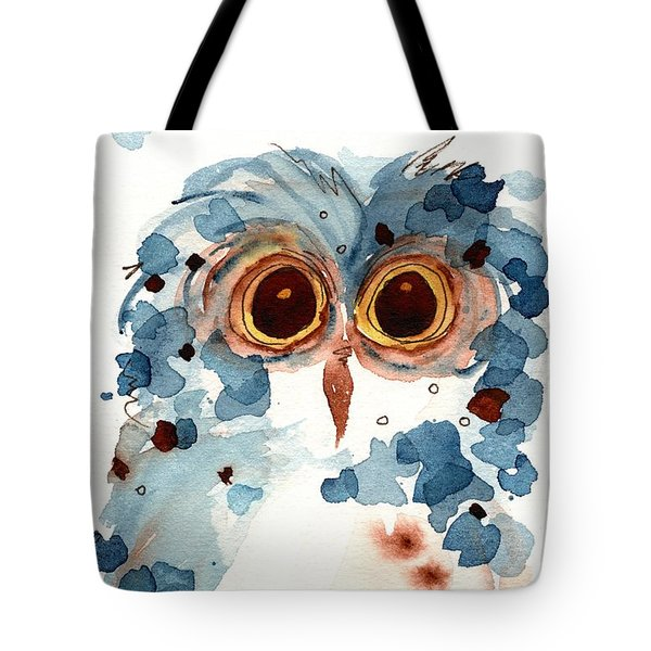 Pier 1 Owl Tote Bag by Dawn Derman