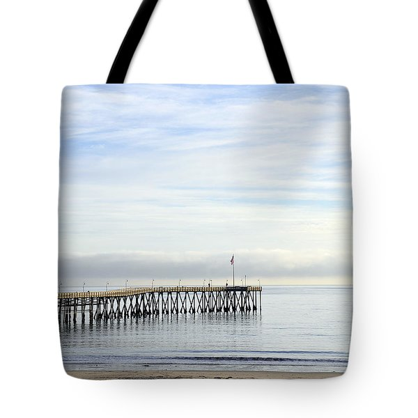 Pier Tote Bag by Gandz Photography