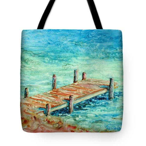 Pier Artistry Tote Bag